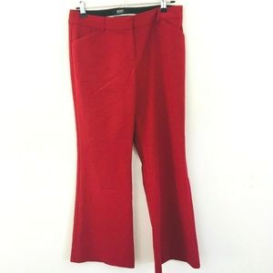 Body by Victoria Christie Dress Pants Red 8 Short